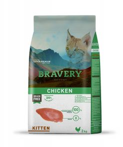 בריוורי לגורי חתולים על בסיס עוף