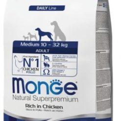 מונג' לכלבים 10-32 קילו עשיר בעוף היפואלרגני מומלץ